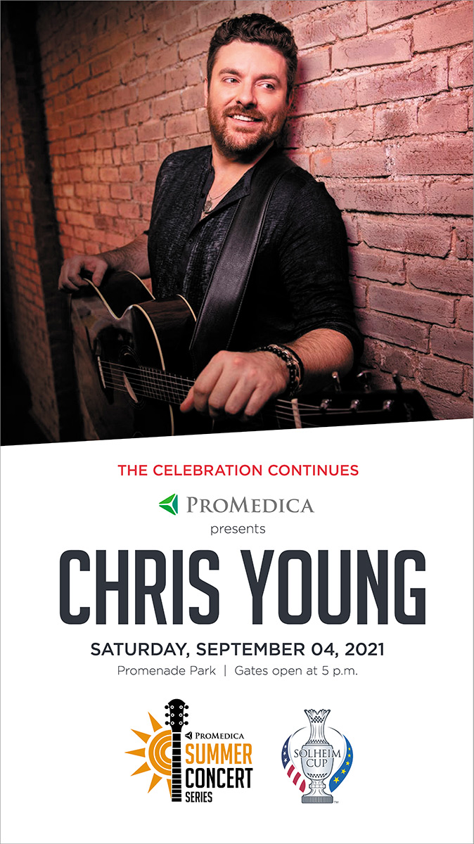 The Solheim Cup Celebration Continues with Chris Young September 4th, 2021 · 5:00 PM
